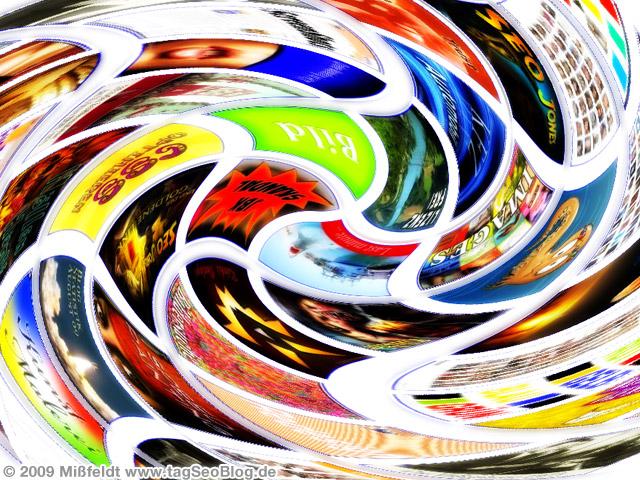 Google image Swirl - Bilderstrudel