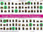 Google Images Layout Änderungen