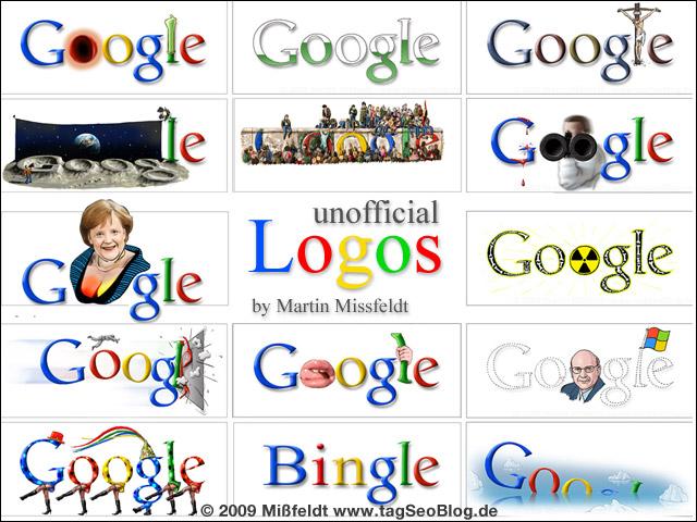 Google Logos (Doodles by Mißfeldt)