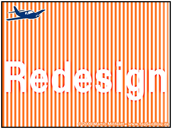 Webdesign reDesign - tagSeoBlog April 2009