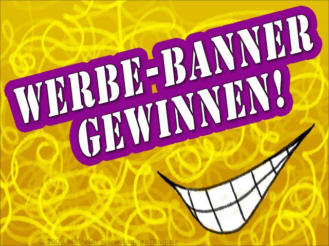 Werbe-Banner zu gewinnen (auf tagSeoBlog.de)