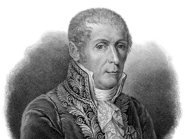Alessandro Volta (Erfinder der Batterie)