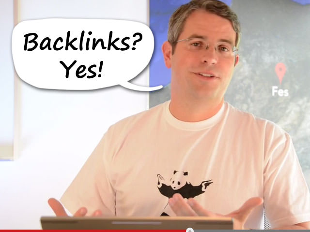 Backlinks sind wichtig! sagt Matt Cutts