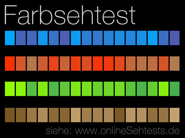 Farbsehtest