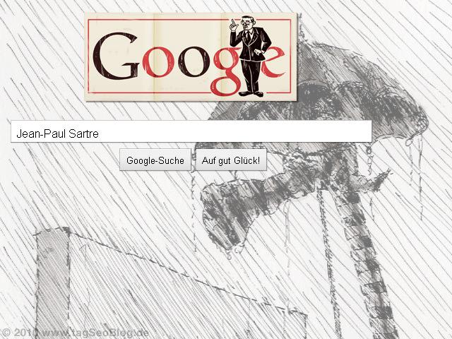 Jean-Paul Sartre Doodle