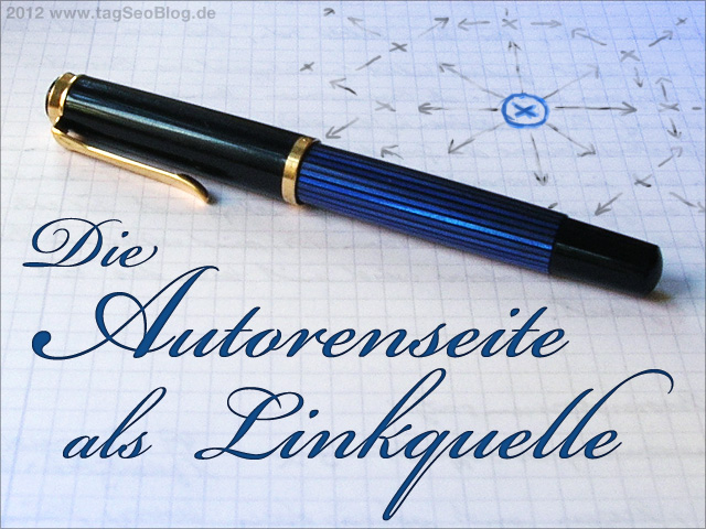 Autorenseite einer Website - ideale Linkquelle