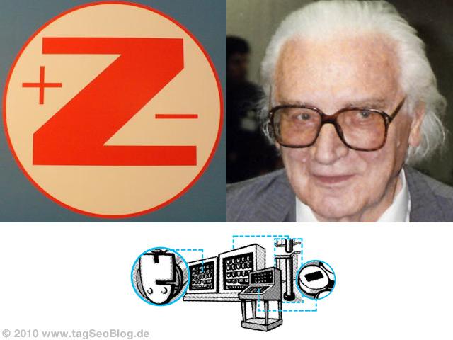 Konrad Zuse Computer-Doodle